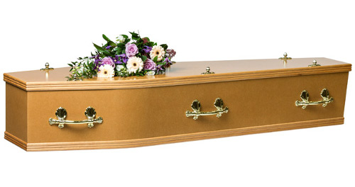 Adult MDF Coffin Image